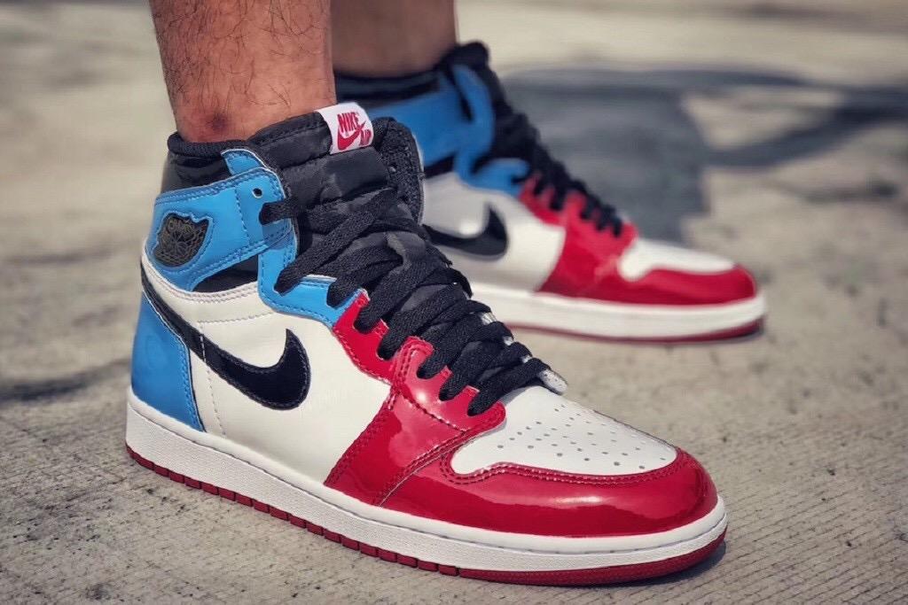 air jordan 1 blu rosse bianche