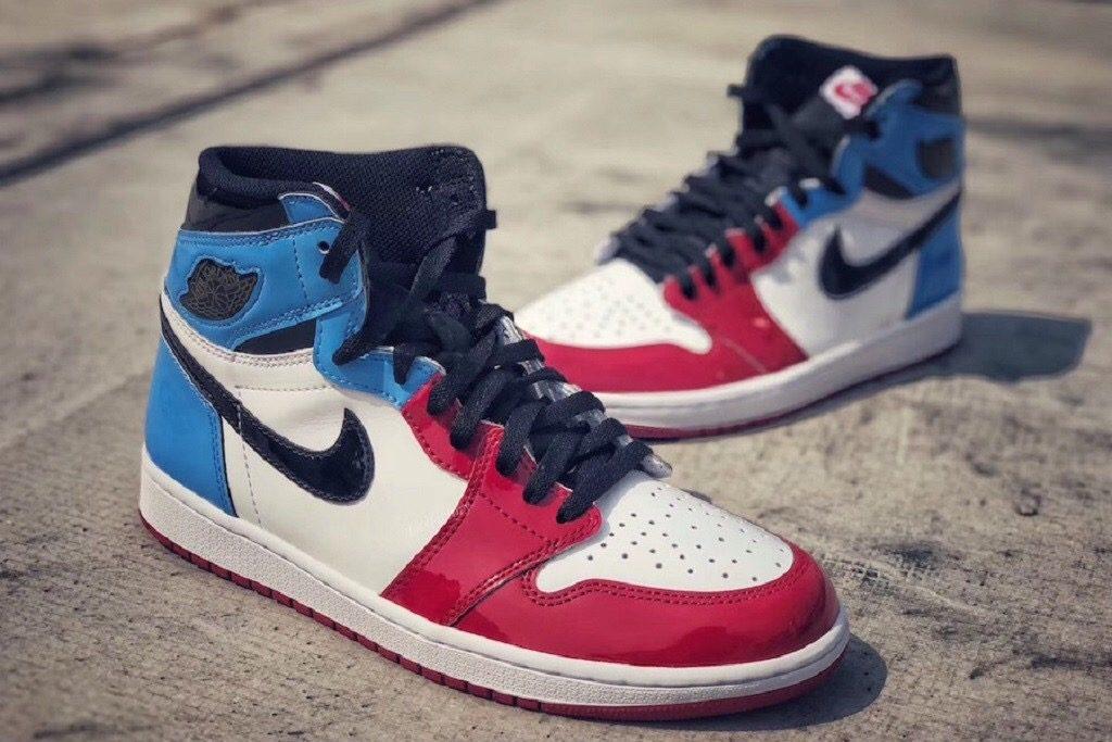 air jordan 1 rosse e blu